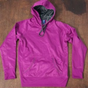 Reebok Women's Purple Pullover Hood Sweater